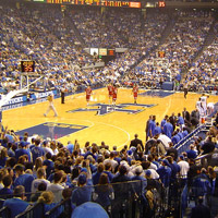 Top Ten College Basketball Arenas