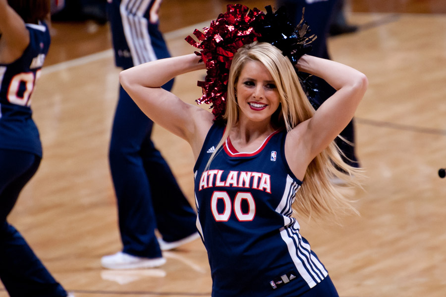 Atlanta Hawks Cheerleader