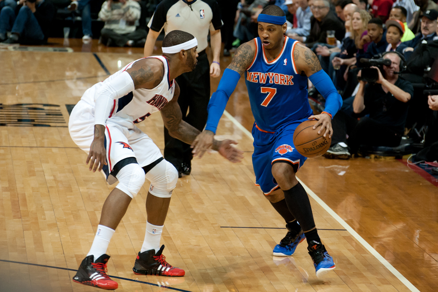Carmelo Anthony & Josh Smith
