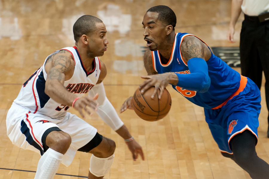 J.R. Smith & Dahntay Jones
