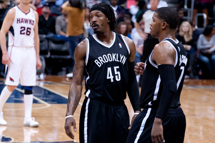 Gerald Wallace & Joe Johnson