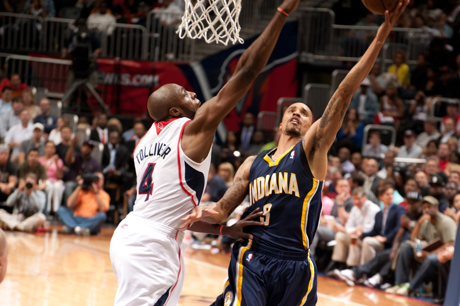 George Hill & Anthony Tolliver