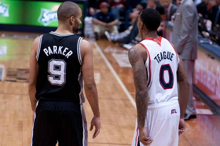 Tony Parker & Jeff Teague